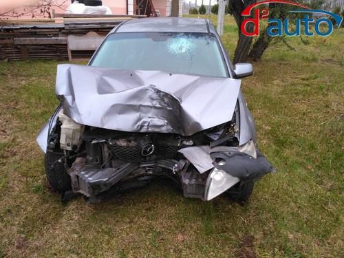 срочный выкуп авто с деформацией после аварии, мазда с деформацией кузова и элементов, битым лобовым стеклом