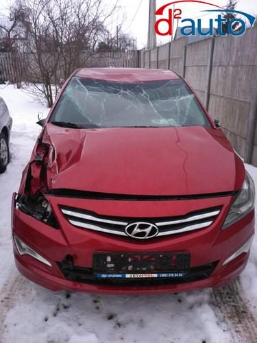 продать авто в Витебске, хендай акцент с повреждениями в результате дтп