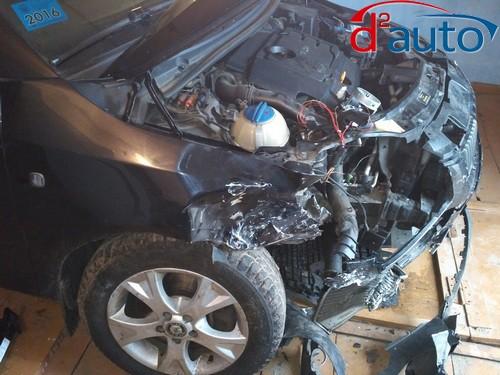 срочный выкуп авто в Витебске, шкода с повреждениями после аварии