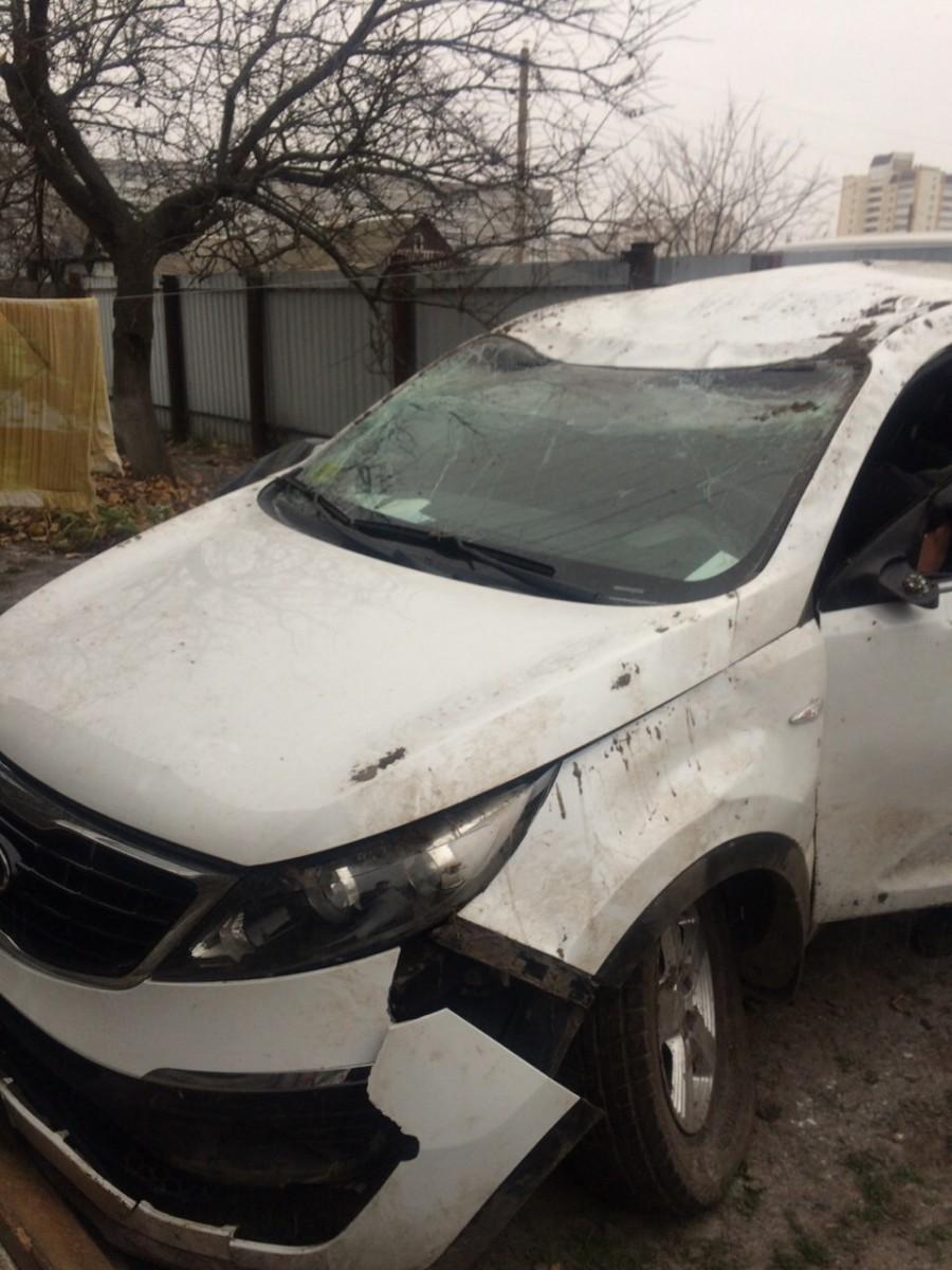 Продать битое авто в Витебске марки киа спортейдж