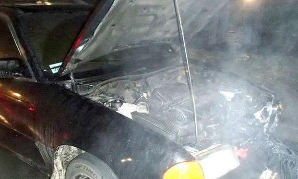 Сгоревшие в Минске аварийные авто