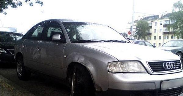 Аварийный авто Audi в Беларуси