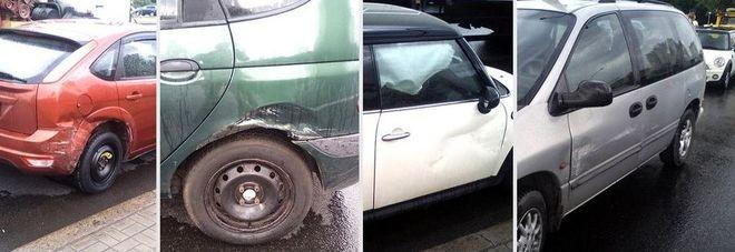 Пострадавшие аварийные авто в Беларуси