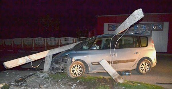 Аварийный авто Renault в Беларуси, Колодищи