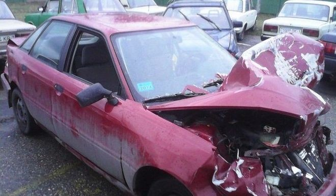 Срочный выкуп аварийных авто AUDI