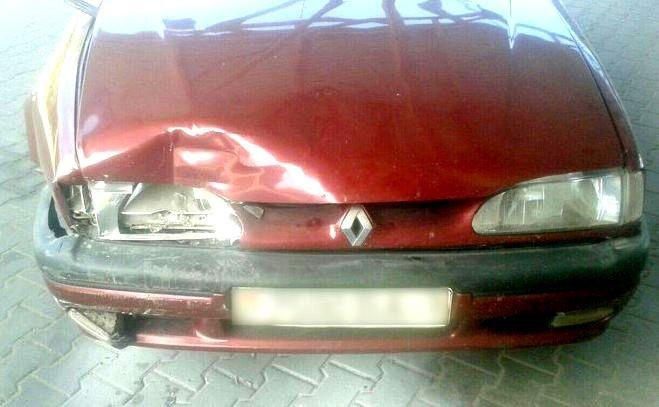 Аварийные авто Renault в Белоруссии
