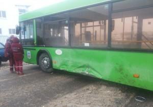 Оценка автомобиля после столкновения с автобусом
