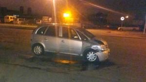 Выключение светофора спровоцировало появление аварийного авто Opel