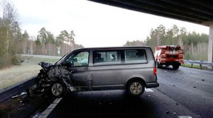 Срочный выкуп аварийных авто, столкнувшихся на зимней дороге